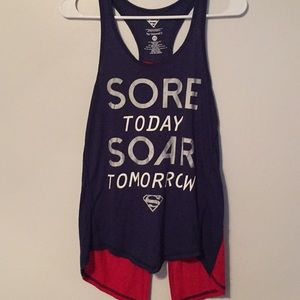 Super hero work out tank
